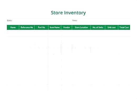Store Inventory