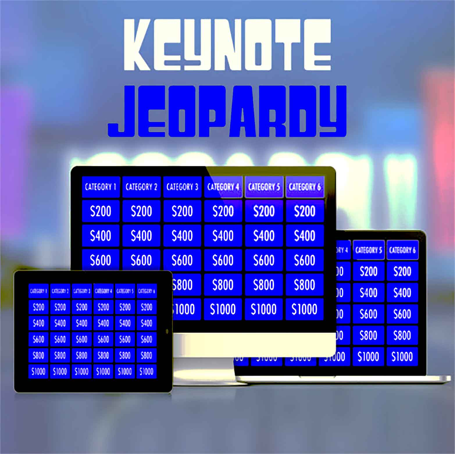 Download Instructions Keynote Jeopardy Template