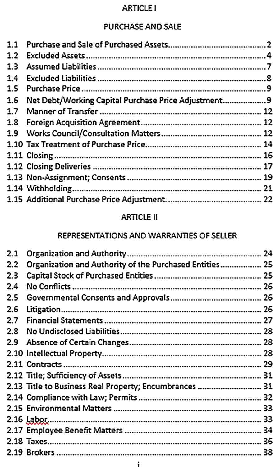 Sample Equity and Asset Purchase Agreement Executed1