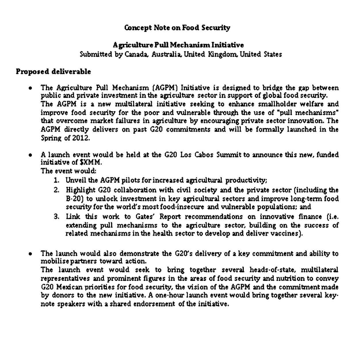 Security Note