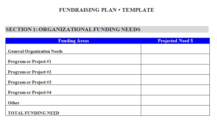 Templates Fundraising Order Document 1 Example