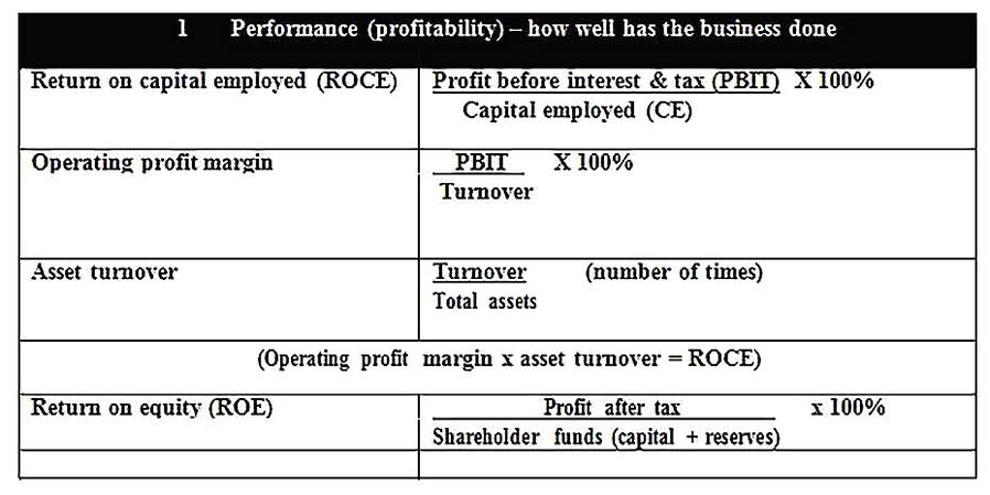 Templates for Business Financial Analysis Sample