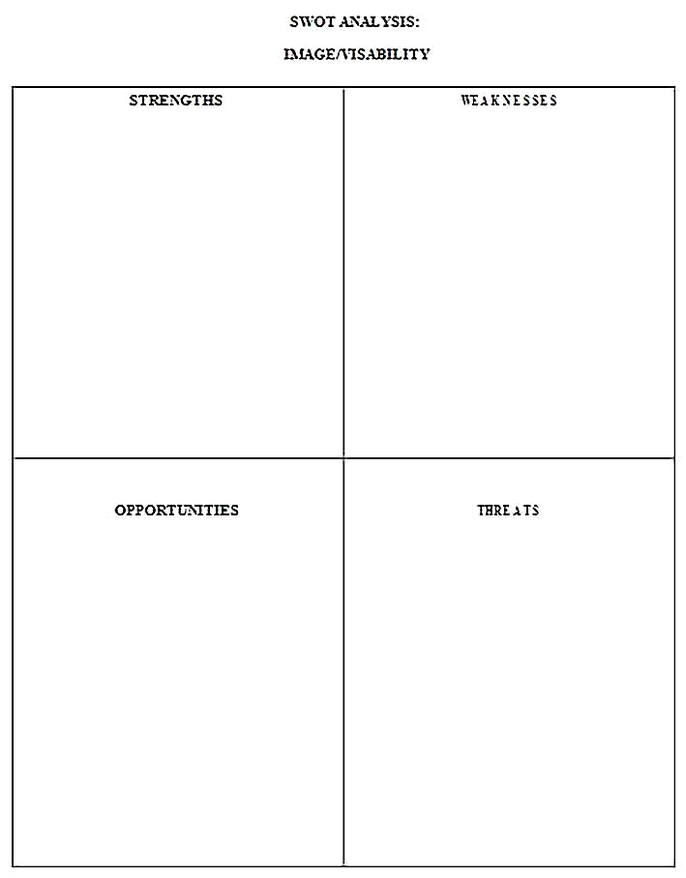 Templates for Human Resources Volunteers SWOT Analysis 2 Sample