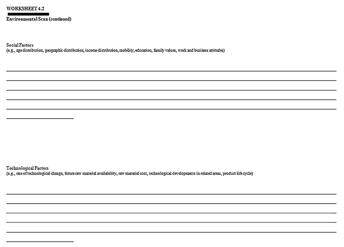 Templates for Industry Competitive Situation Analysis 3 Sample 1