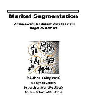 Templates for Market Segmentation Analysis Sample