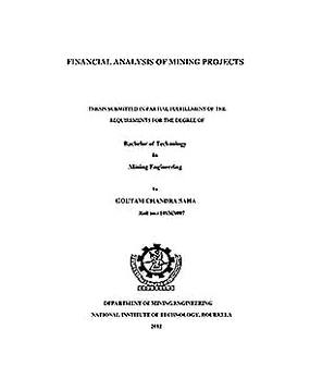 Templates for Mining Project Financial Analysis 1 Sample