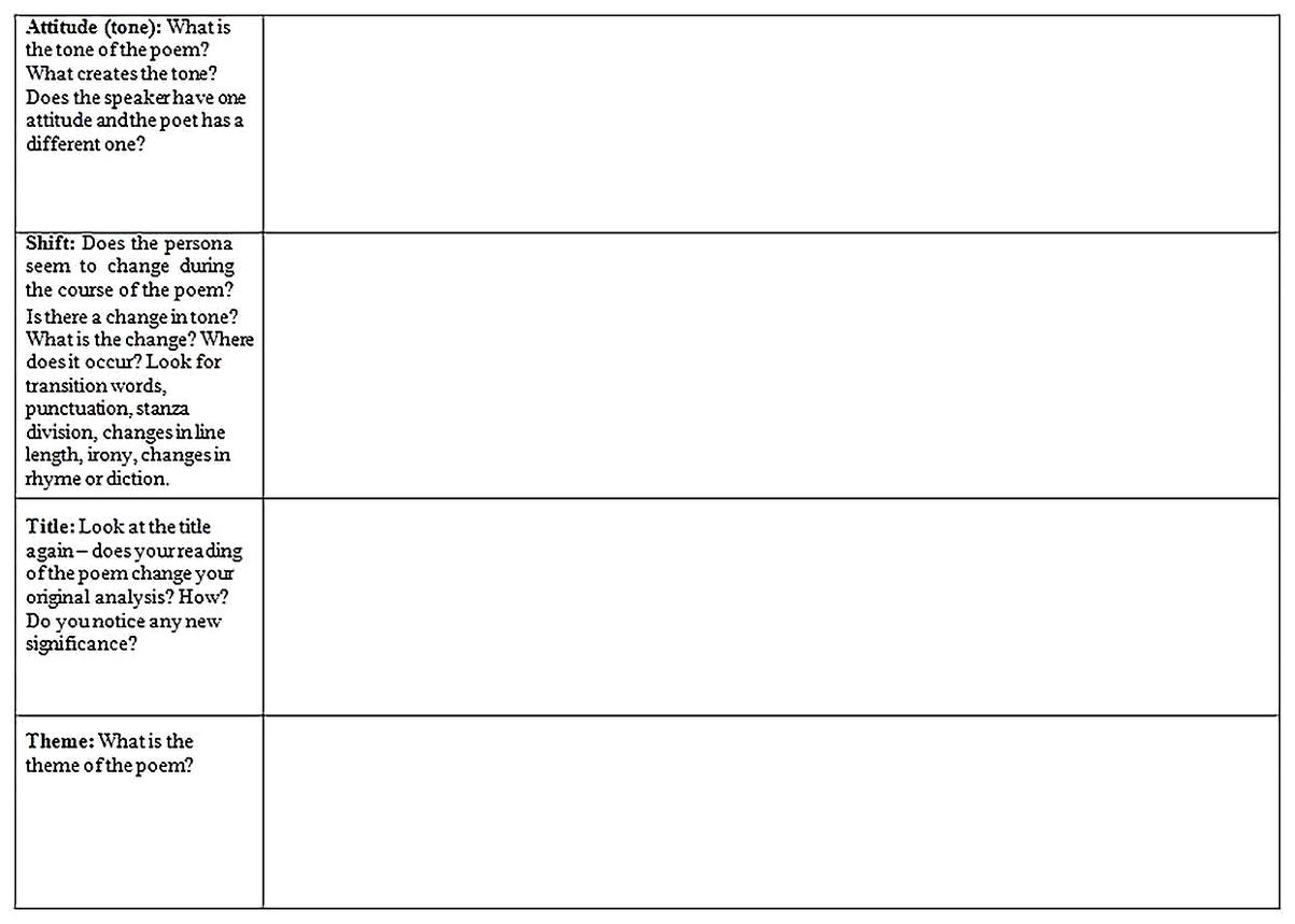 Templates for Poetry Analysis 2 Sample 002