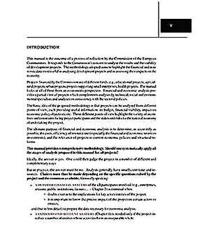 Templates for Project Financial and Economic Analysis 1 Sample