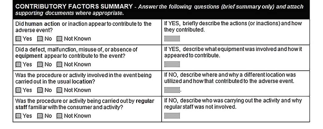 Templates for Root Cause Analysis Report Form3 Sample