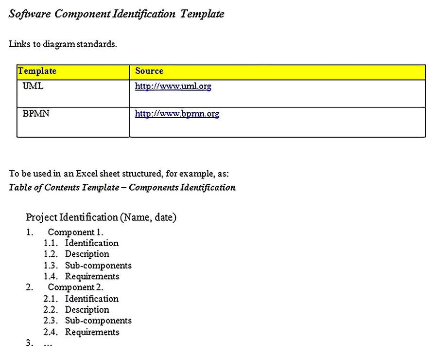 Templates for System Requirements Analysis 3 Sample
