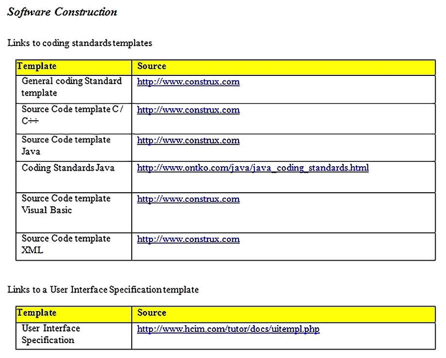 Templates for System Requirements Analysis 4 Sample