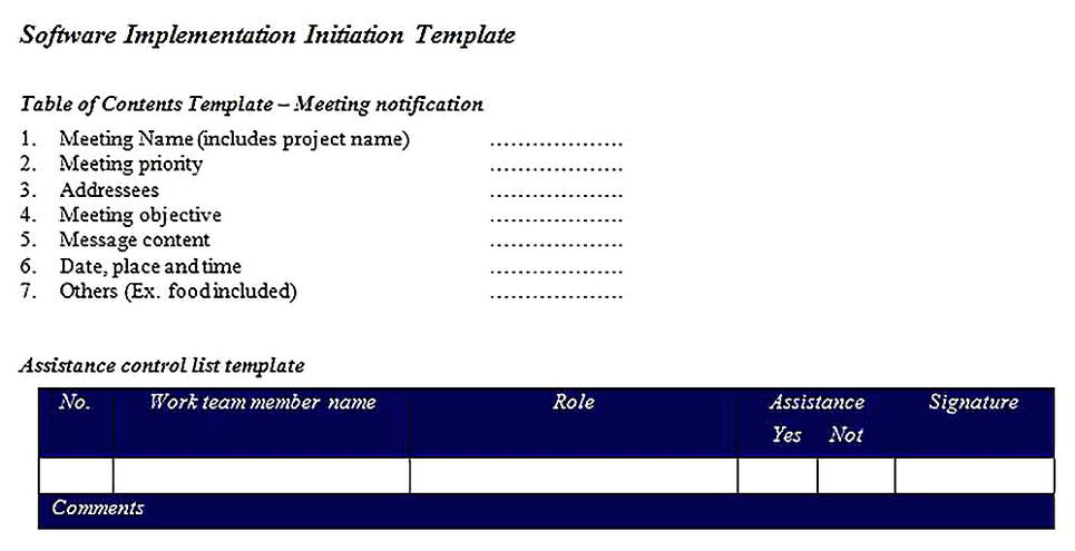 Templates for System Requirements Analysis Sample