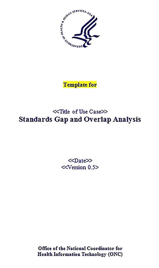 Templates for for Gap Analysis Sample