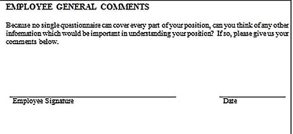 Templates for job analysis questionnaire 10 Sample