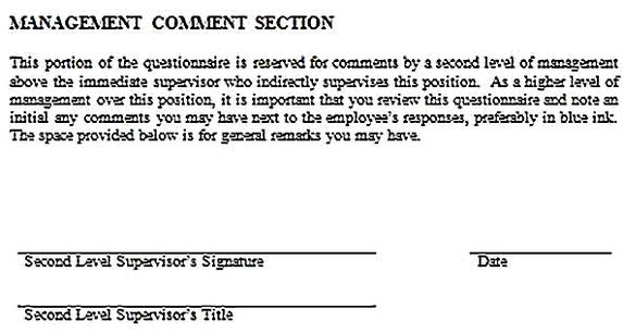 Templates for job analysis questionnaire 12 Sample