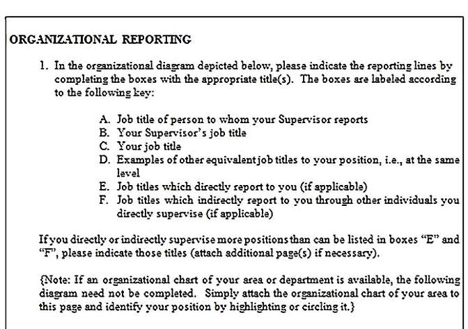 Templates for job analysis questionnaire 8 Sample