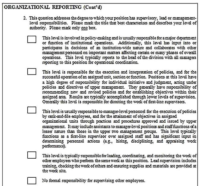 Templates for job analysis questionnaire 9 Sample