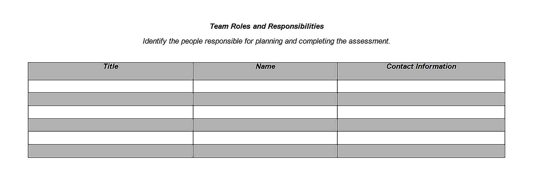 Templates for risk analysis 2 Sample