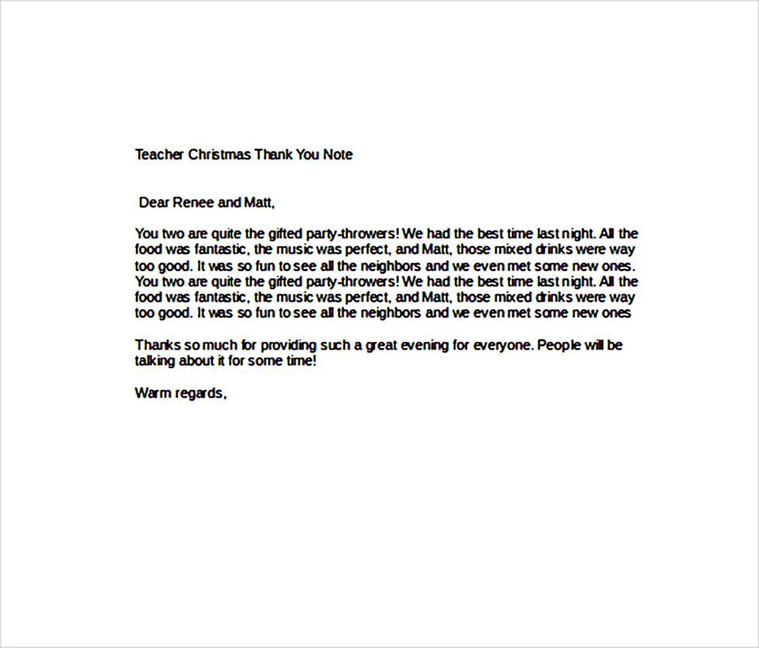 teacher christmas thank you note1
