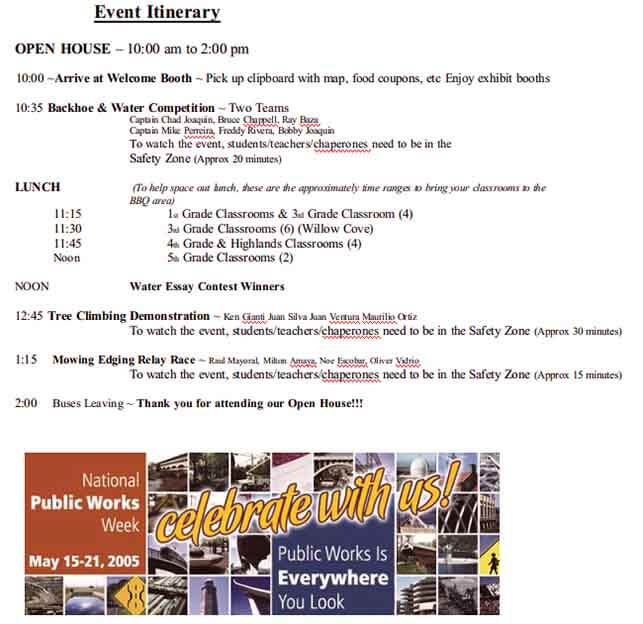 Templates Corporate Event Example