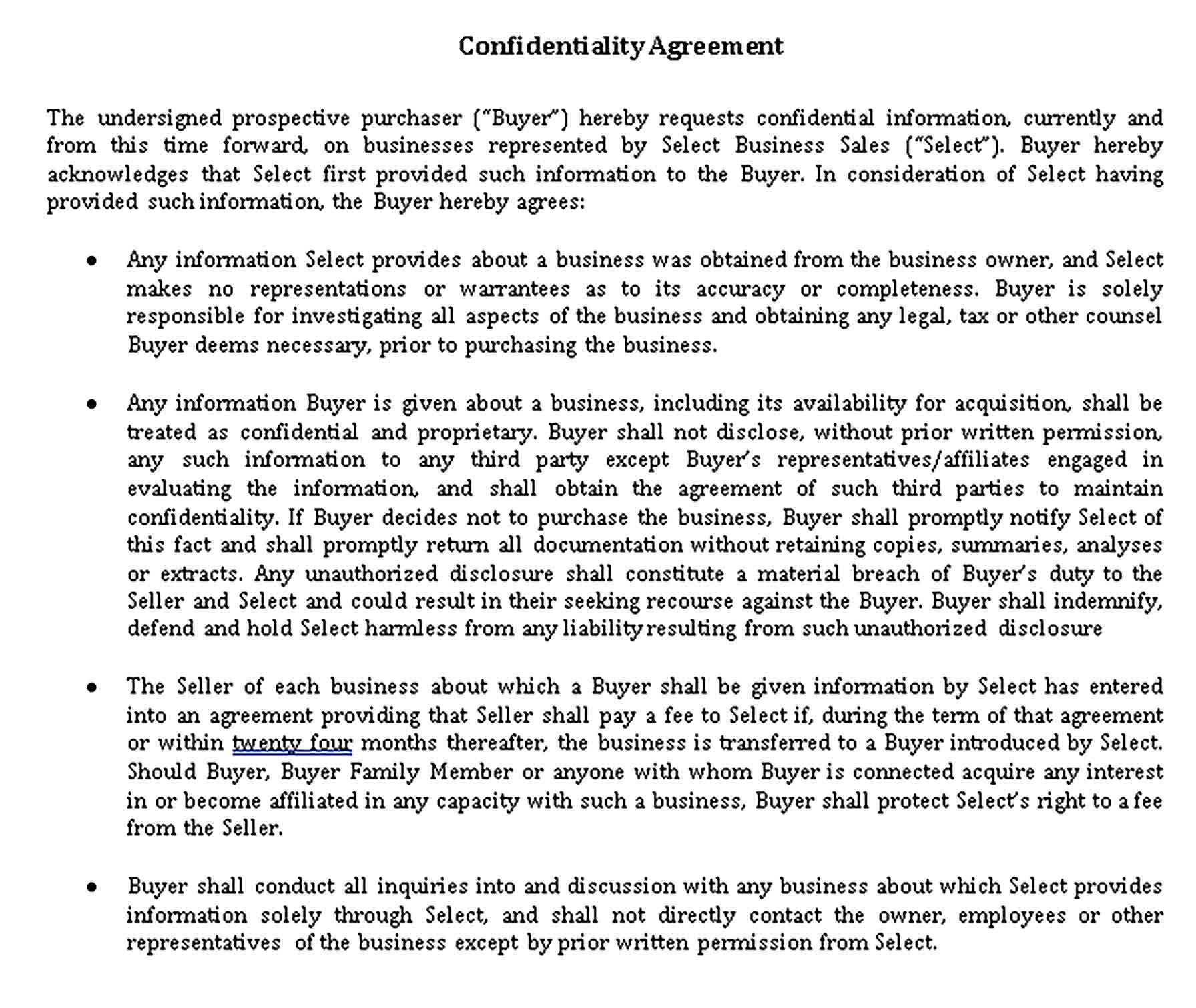 Templates Mediation Confidentiality Agreement for Affiliate Sample