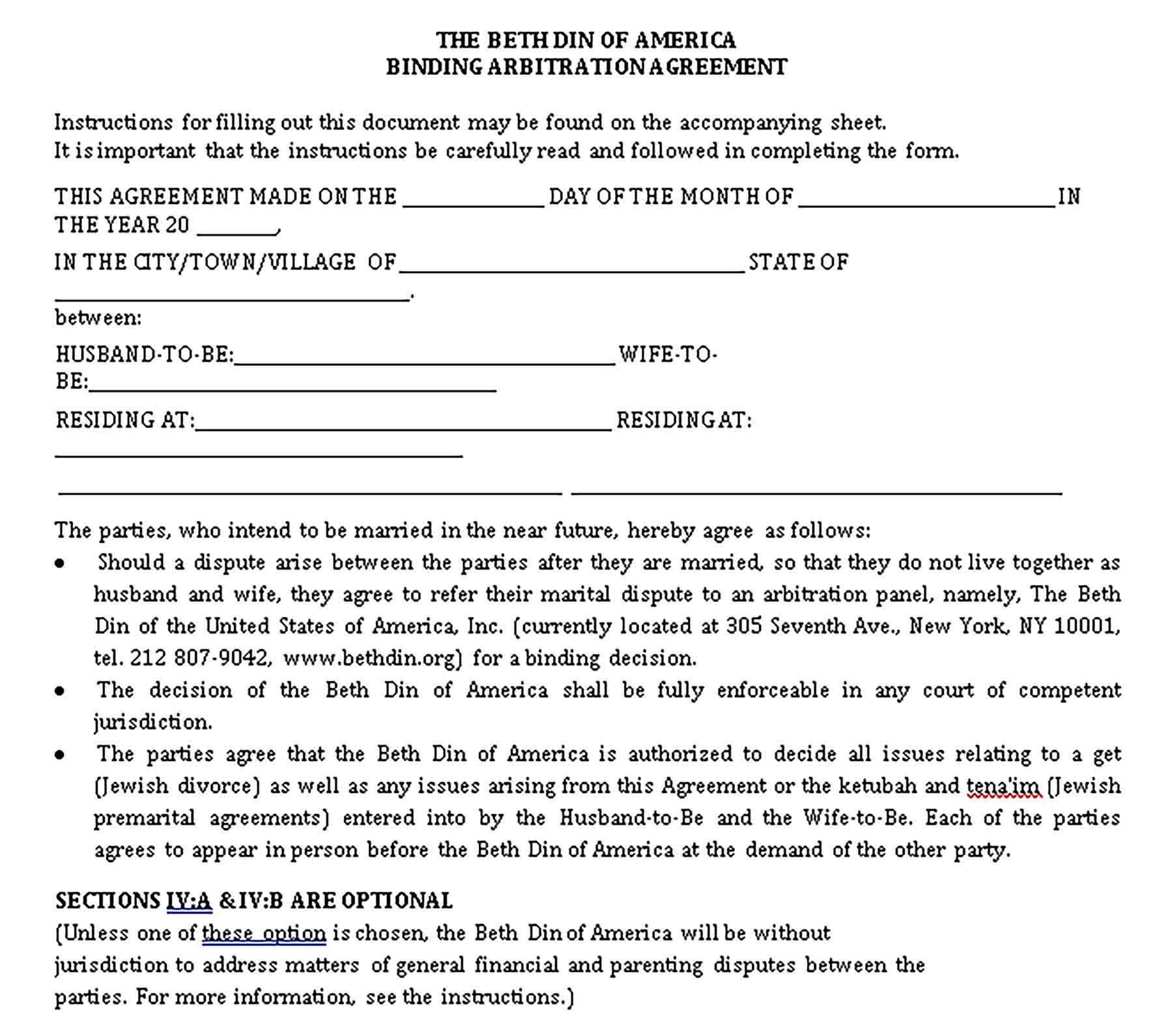 Templates Pros Prenuptial Agreement Format Sample