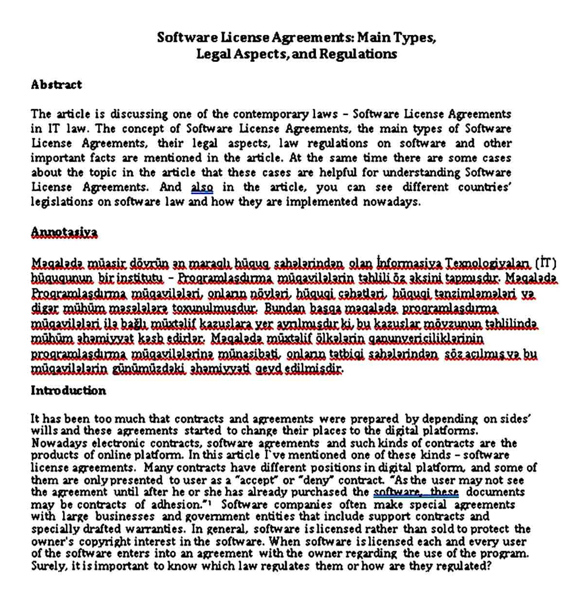 software license agreement guide