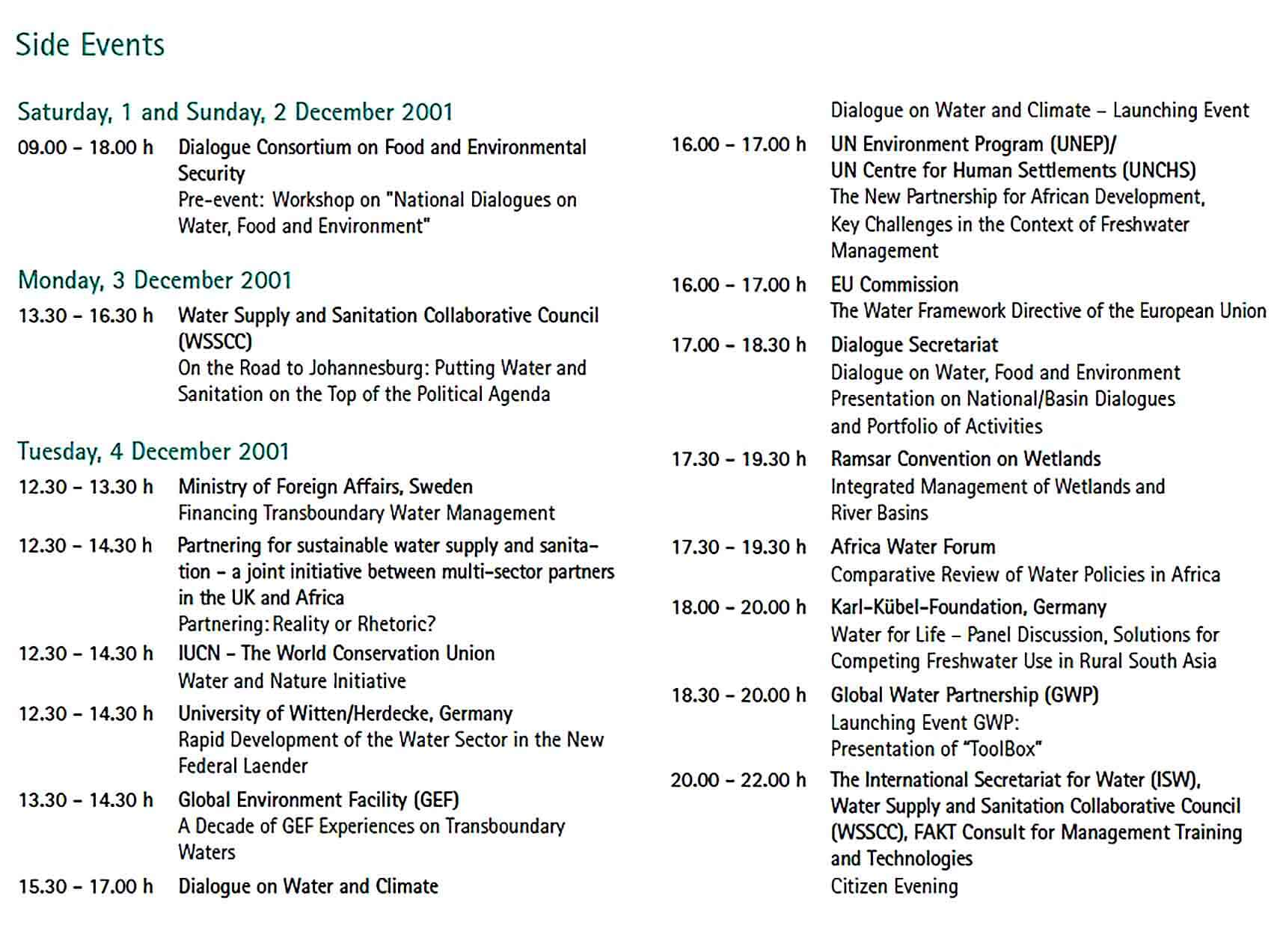 Sample Conference Report Sample Template