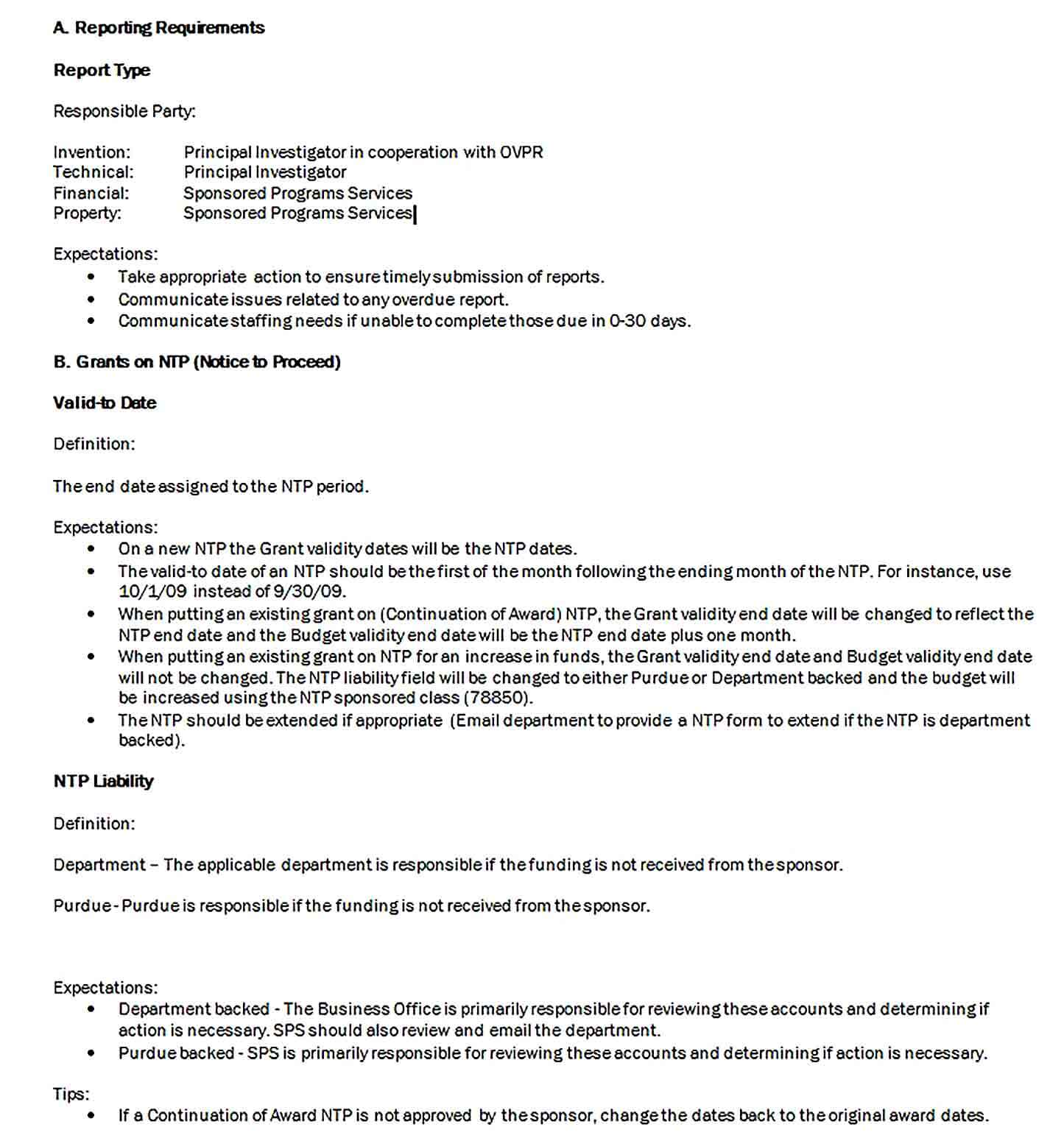 Sample Doc Format Account Management Report Template