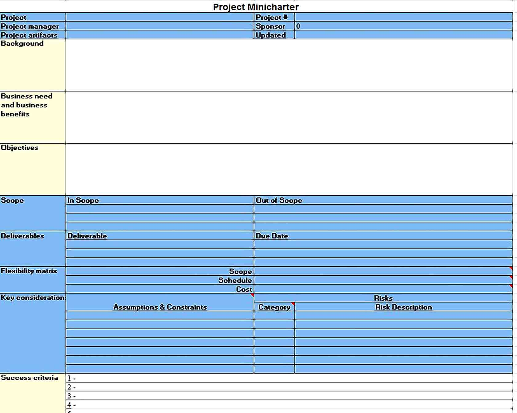 Sample Status Project Report Template Excel Format 1 1