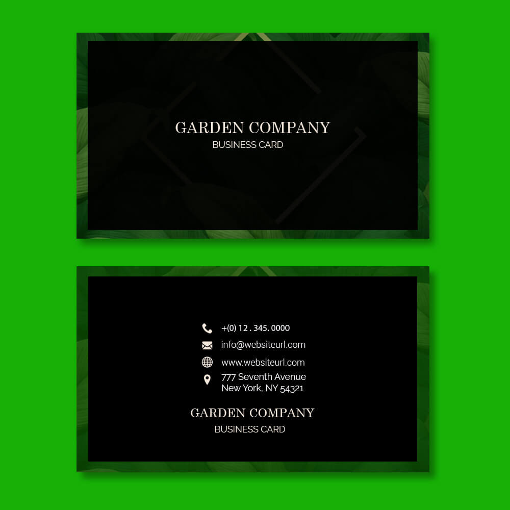 Business card templates in photoshop