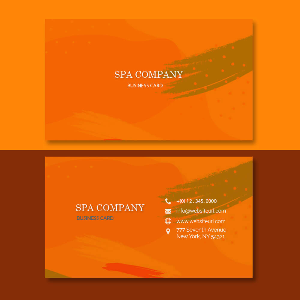 Business card templates templates for photoshop