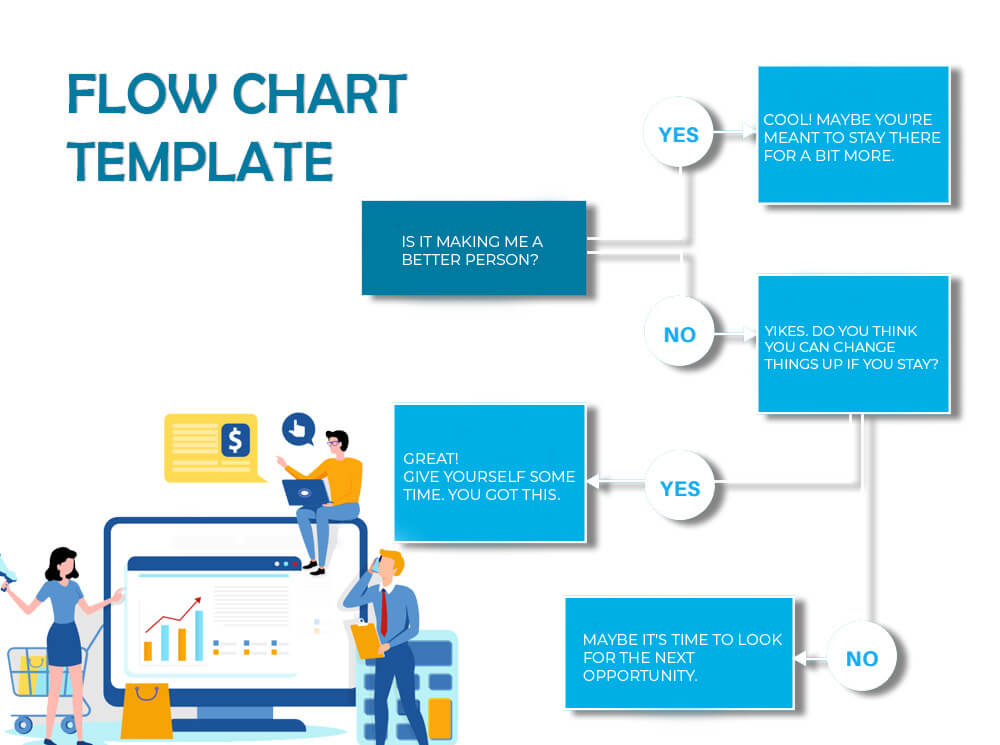 Flow Chart psd templates