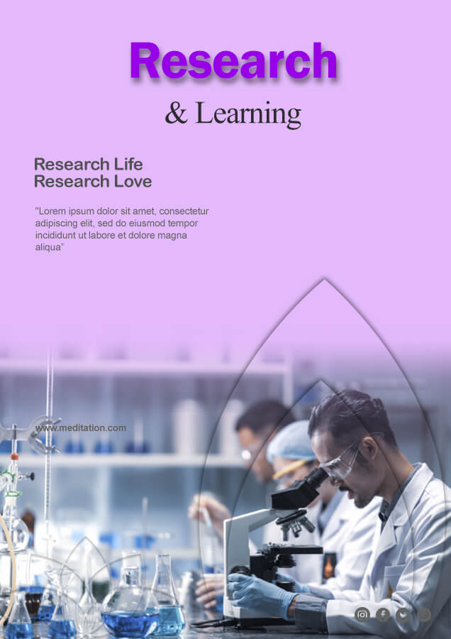 Research Poster psd templates