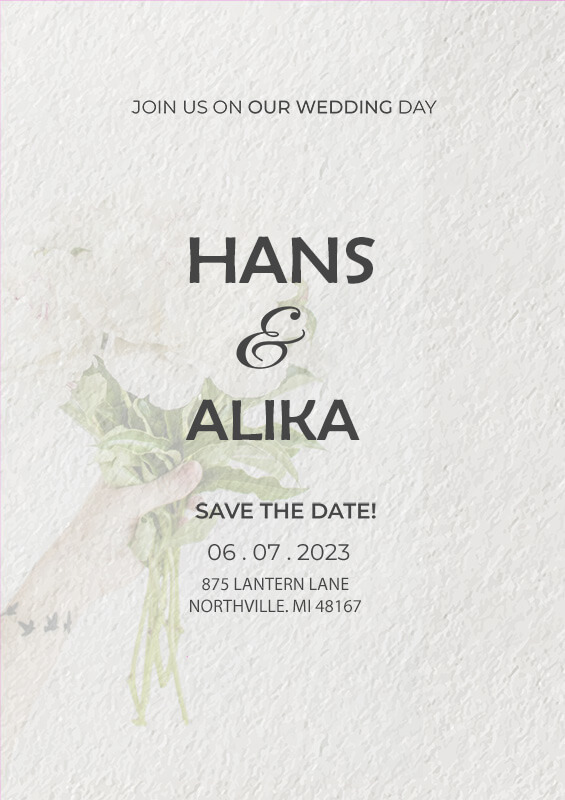 Wedding Invitation templates for photoshop