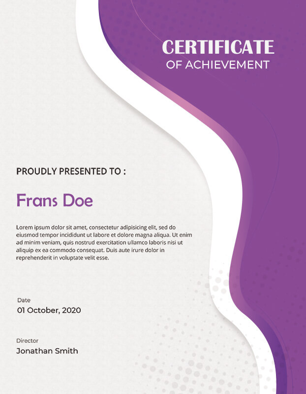 award certificate templates for photoshop