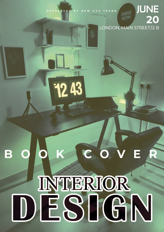 book cover in photoshop