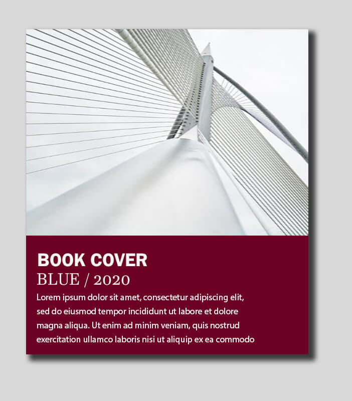 cover page example psd design