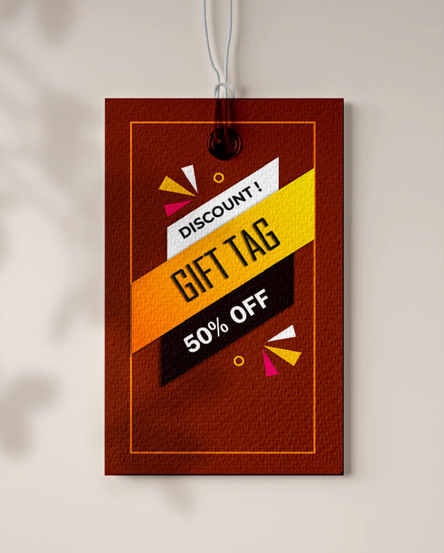 gift tag psd templates