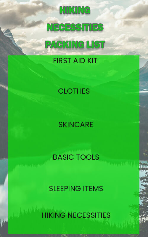 packing list templates for photoshop