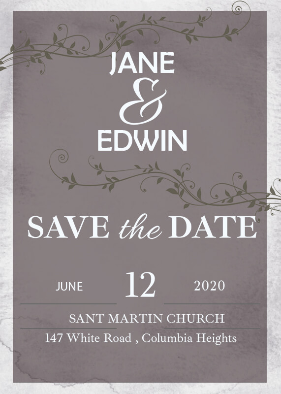 save the date in photoshop