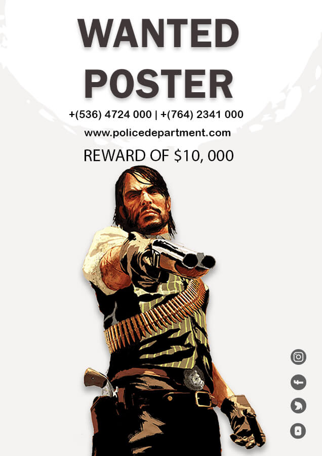 wanted poster in photoshop