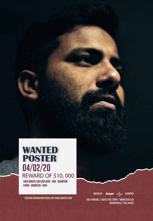 wanted poster templates for photoshop
