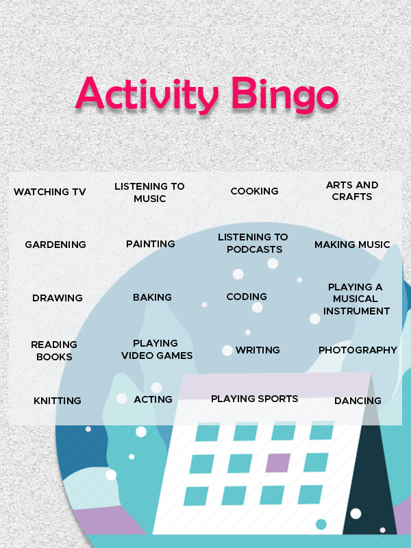 Bingo Card example psd design