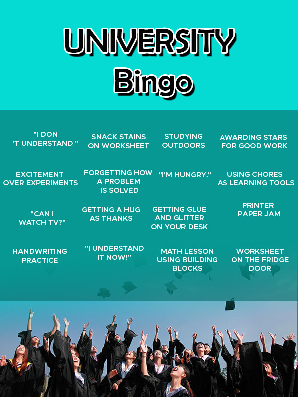 Bingo Card in photoshop