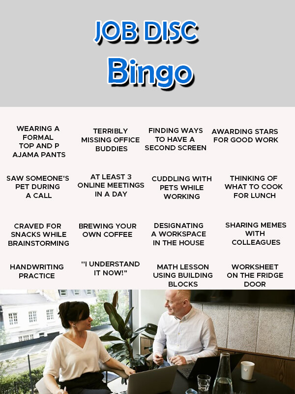 Bingo Card in psd design