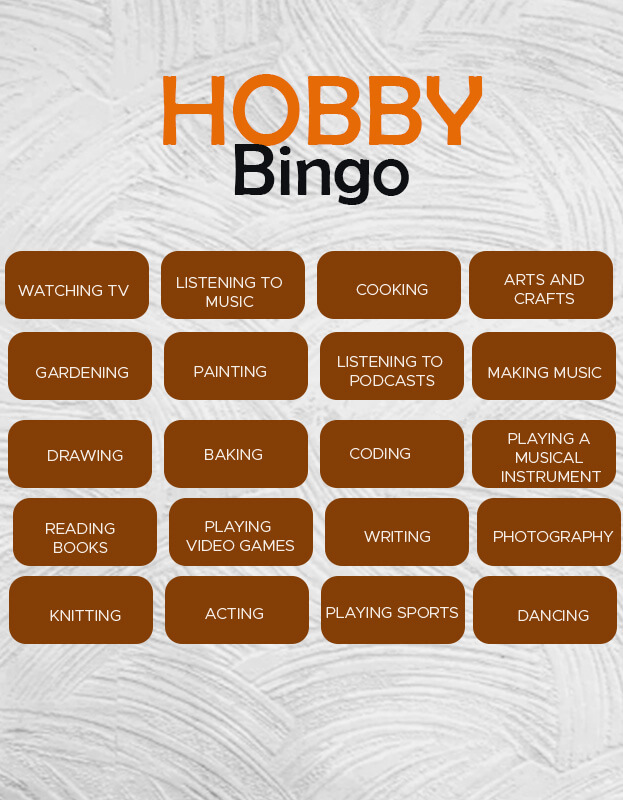 Bingo Card psd templates