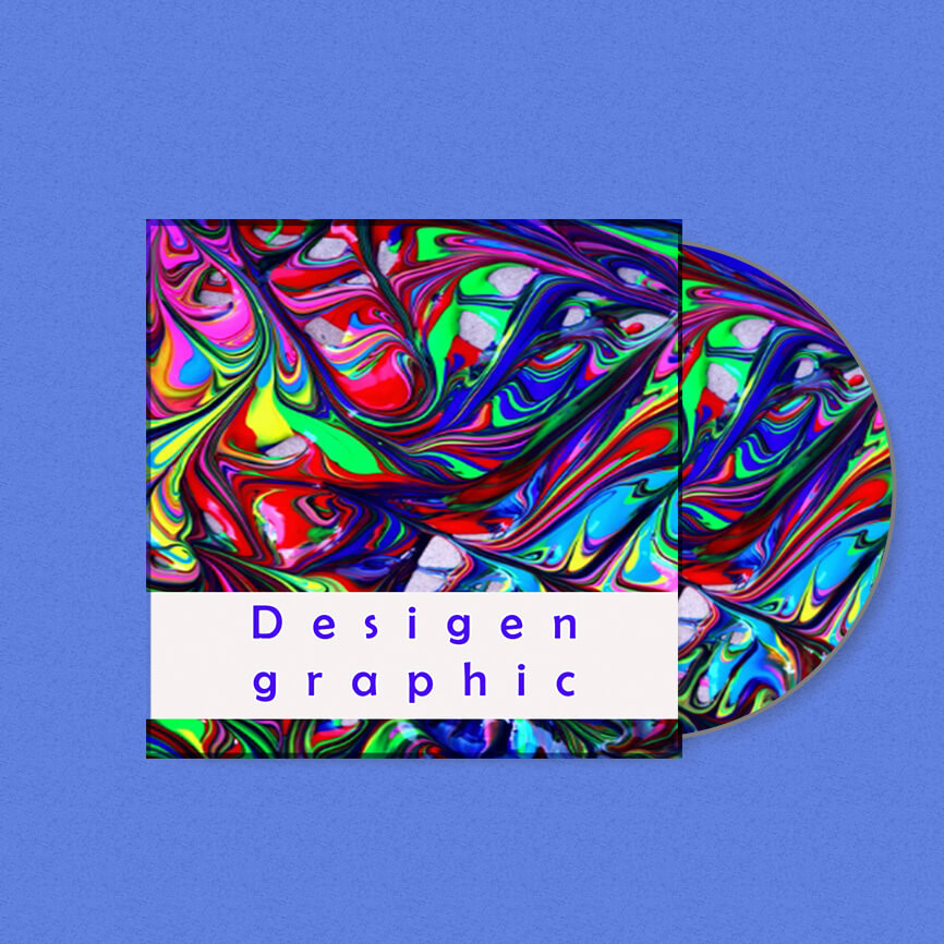 CD cover in photoshop