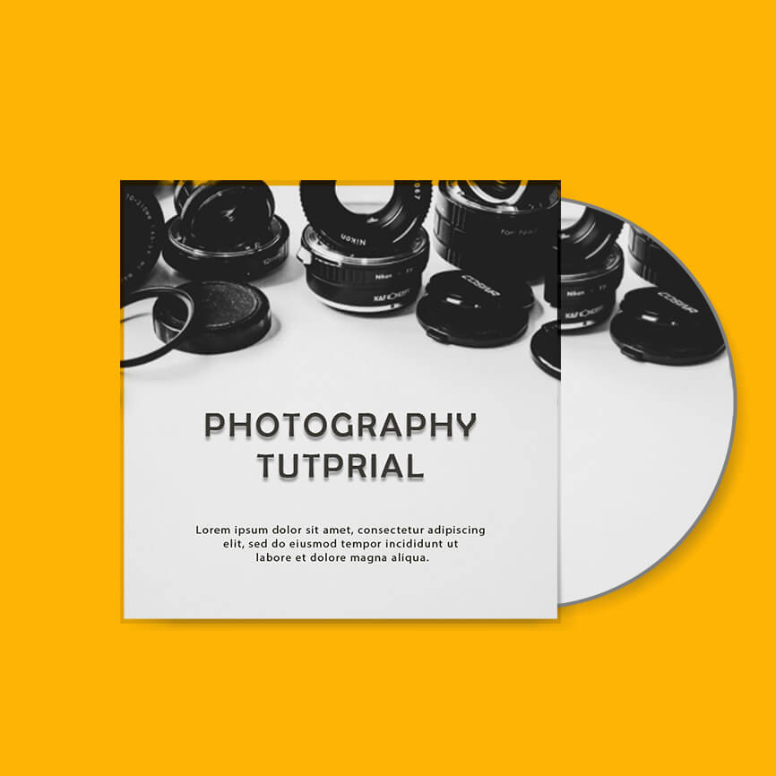 CD cover templates for photoshop