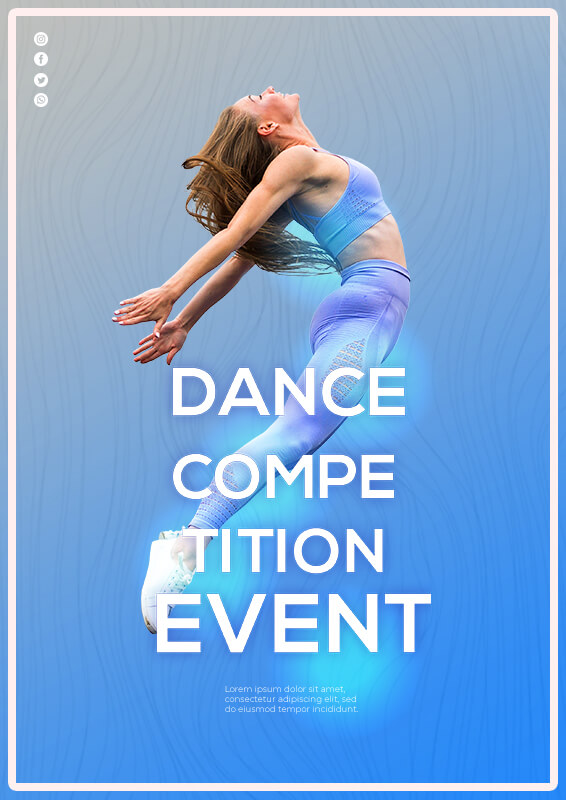 Event Flyers in psd design